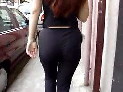 Chubby redhead candid voyeur video