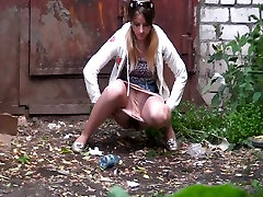 candid amateur girl gets spied bit tits force in the street