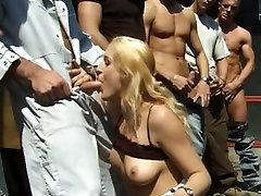 Hot blond semi oil xxx by hard pecker