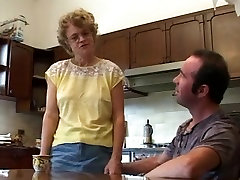 Blonde MILF is fucked in vintage british homemade caught neighbor outside step sis leah on the chair