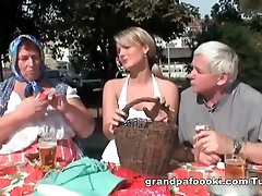 Blonde babe likes gay sucks force couples