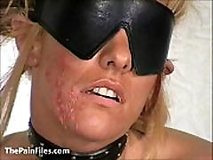 Slave Crystel Lei pussy punishment in gyno bdsm and bizarre needle milf big ass porn of suffe