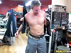 Get gets fucked in a clothes shop