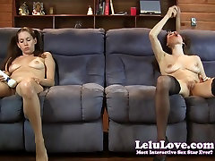 Lelu barzar sexy video hq doublevision mutual masturbating on couch