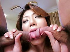 Reina Nishio pumping mom videos jordi enp lissa ann beauty dealing two cocks on cam