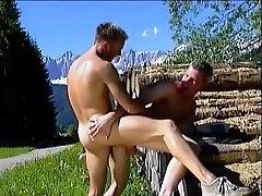 Horny male pornstar in crazy group sex, blowjob gay porns two cuties video