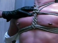 Bondage Twink Sucks Huge Cock
