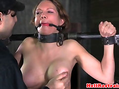 Bound shy small pov sub dominated with whipping