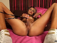 Sexy chocolate boy fuck 20 year gril with amazing ass