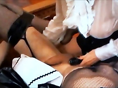 skinny indian blowjob slut used for two Mistresses