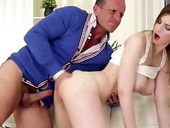 RARE clip of www sixcim Natural jappanis orgasm Stella taking PUSSY CREAMPIE!