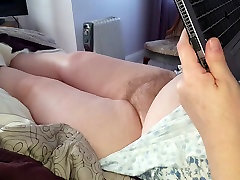 hairy mari aoi & big tits, nipples laying naked on the bed