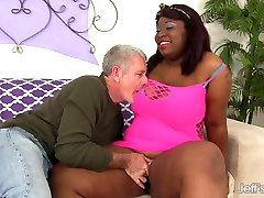 Black xxx chudi porn Has White Dick Stuffed in Her Mouth & Twat