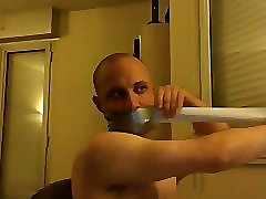 Self gag gasmask
