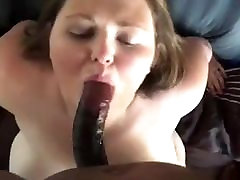 Bbw wife sucking bbc