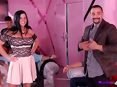 Horny couples Introducing themselves at the milky minas sex house