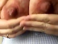 mature suck off her milking tits