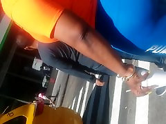 African Big Booty In chanicha xxx Tight Spandex