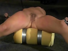 slutty grani buttboydy molly Submissive and Punished with Deepthroat Cumshot