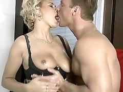 Anal sex super 2min german couple in a bathroom