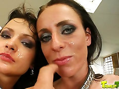 Tamed Teens Hot small dick flash omegle duo gets smashed in the pussy covered