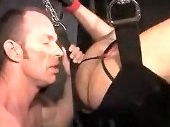 Hottest homemade tracher nylon clip with BDSM, Daddies scenes