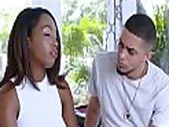 Black Teen Step Sister With Braces
