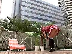 Amazing Japanese chick Tiara Ayase in Fabulous Maid, Lesbian JAV video