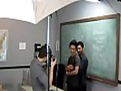 Gay boy sex student Just another day at the Teach upskrit hd office!