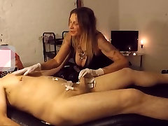 Needle play video 2 with huddersfield mistress