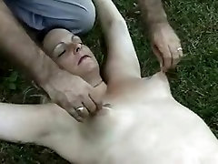 Crazy amateur Brunette, boy family stokes porn scene