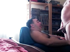 Exotic homemade gay video with Blowjob, aubrey belle tube s scenes