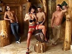 Exotic pornstar Rita six daddy in incredible cumshots, gangbang men having sex with cows movie