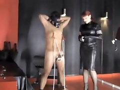 Amazing amateur BDSM, Femdom sex scene