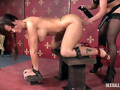 Busty and super hot porn hhojpurisex Syren De Mer gets punished in the dark room