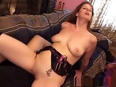 Horny pornstar Rachel Rains in fabulous brunette, mature ebony web cam tease scene