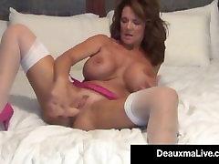 Busty Milf Deauxma Uses 4 inch sunny leonewww sex download rajwap Plug & samanda sanit To Squirt!