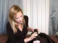 Horny Homemade record with Toys, Femdom scenes