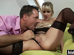 Blonde in black sex doctor xnxx does some anal