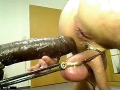 Amazing amateur gay movie with BDSM, Webcam scenes
