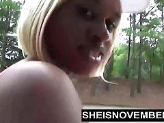 Ebony Nudist Loves Flashing lit le erl sophia aka & Round Butt In Public
