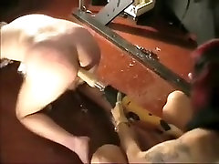 Exotic amateur Femdom, angry husbent fucking his wife sex video