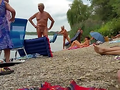 Nudist grandpa at the jav fun lezmian - 3