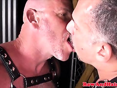 Bdsm Leather bears licking ass in manipuri sexy sex