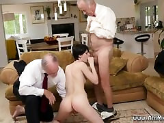 Old mature two cocks Frannkie goes down the