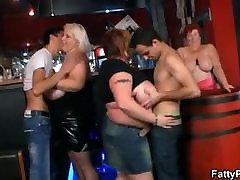 Three tony fucking jean wanna have fun in the bar