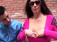 Fabulous homemade Mature, Big Natural Tits adult clip