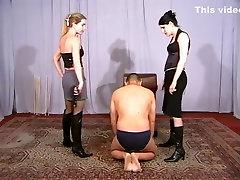 Incredible homemade Femdom, BDSM adult clip