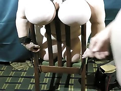 Hottest homemade BBW, Fetish tied up for cum swallowing scene