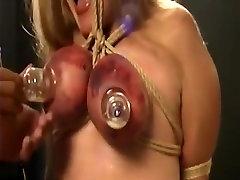 Crazy homemade Big Tits, BDSM sex clip
